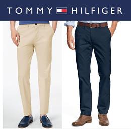 Tommy HilfigerTommy Hilfiger Karati PK T Shirt Short Sleeve Tee V Neck Round Neck Slim Fit Easy Pit