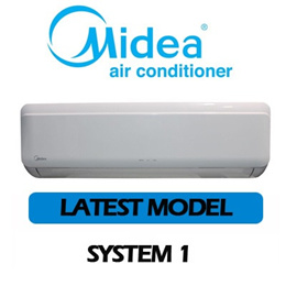 *SPECIAL Price for HDB ONLY* Midea INVERTER SINGLE SPLIT AIRCON SYSTEM 1