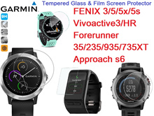 Garmin Approach s6 FENIX 3 5 x s Forerunner 35 235 935 735XT Vivoactive3/ HR Tempered Glass