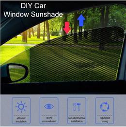 ❤DIY Car Sunshade❤Side Window Screen Sun Shades Car UV Door Mesh❤SG Seller❤