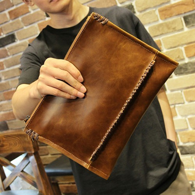 Botrong Men Bifold Business Leather Wallet ID Credit Card Holder Purse Pockets