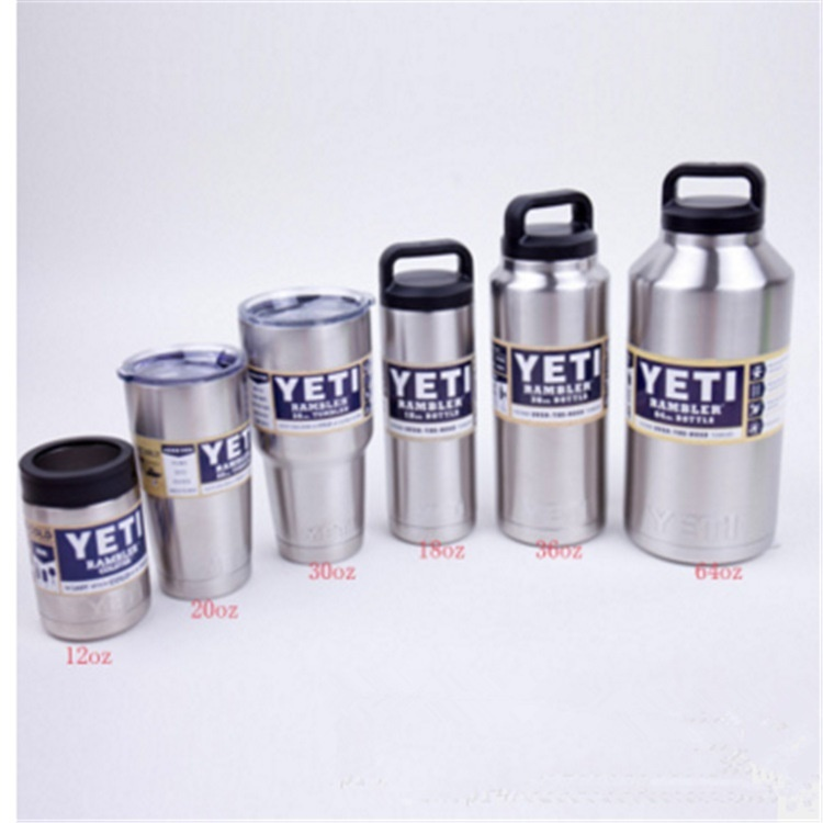 [US$11 63](▼31%)New 304 stainless steel thermos Cup mug YETI flask super  cool multicolored travel mug