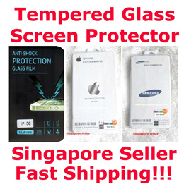 Premium Samsung S4/S5/S6/ Note 4/ Note 4 Edge /Iphone 4/ Iphone5/ Iphone 6/ Iphone 6 plus Tampered Glass Screen Protector Singapore Seller Value 4 Money Good Protection