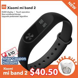 [Xiaomi] Mi Band 2 Smart Wristband / Heart Rate Monitor OLED /Display Bluetooth Mi Ban/sports