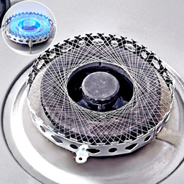 Stainless steel round energy-saving NET stove gas stove burner gas-windshield reflection gas-windshi