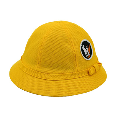 7d3551c57b3 Small yellow baseball caps, fisherman hat pupils Japanese children safety  helmet with a custom-