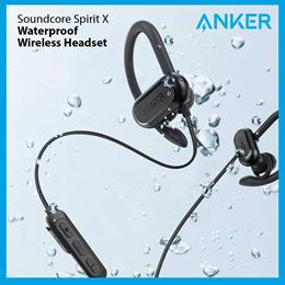 Anker Wireless Earphones Soundcore Spirit X Bluetooth Earpiece 100% Authentic Fast Delivery