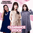 Premium Quality Long Stripe Shirts_100% Cotton_Dress_Blouse_Shirt_Jumpsuit