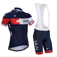 Cycling Bike Short Sleeve Dark Blue Clothing Bicycle Sport Jersey Bib Shorts Set