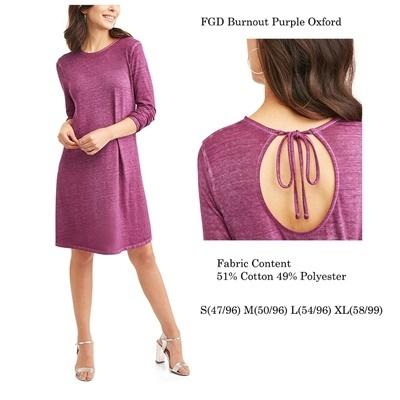 FG Burnout Purple Oxford