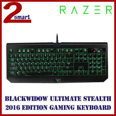 01cfba8bf59 Razer BlackWidow Ultimate Stealth 2016 - Mechanical Gaming Keyboard - US  Layout FRML