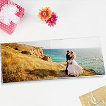 "24-Page 11""x 8.5"" Medium Landscape Imagewrap Lay Flat Hardcover Photobook from Photobook Malaysia"