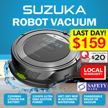 [INTRODUCTORY OFFER!] ★ PROSCENIC SUZUKA ROBOT VACUUM w WATER TANK 5-in-1★ SG AGENT WARRANTY★ NOW $1