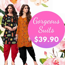 Gorgeous Dhoti Pant Suits at $39.90! Free Shipping!