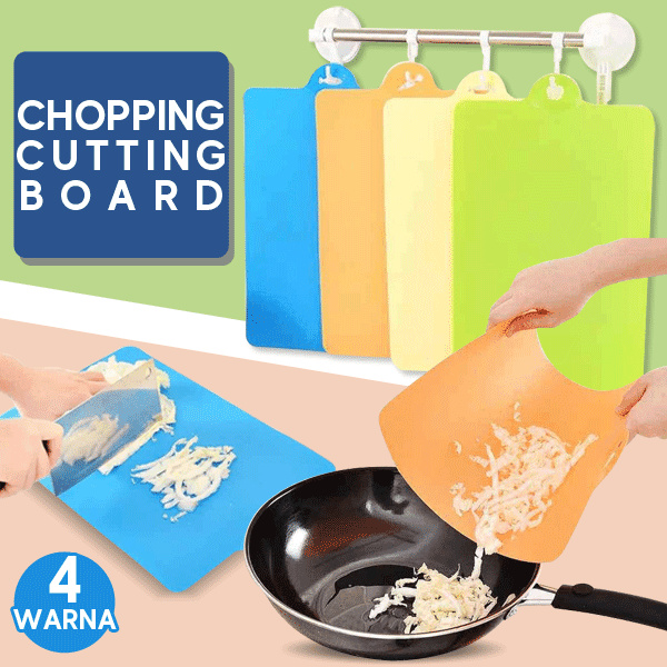 Talenan alas plastik alas potong Chopping Cutting Board WARNA WARNI Deals for only Rp15.000 instead of Rp15.000