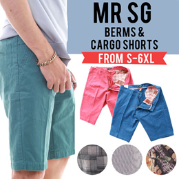 Ready Stock! Fast Shipping! On Sale!!! NEW ARRIVAL! Mens Casual Bermudas! Trendy Style Fitting Short