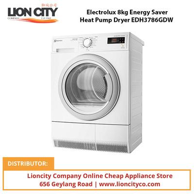 qoo10 electrolux 8kg energy saver heat pump dryer. Black Bedroom Furniture Sets. Home Design Ideas