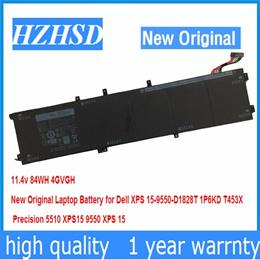 全新装戴尔DELLPrecision 5510 XPS15 9550 4GVGH 84Wh笔记本电池