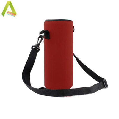 Outdoor Sport Camouflage Water Bottle Carrier Insulated Cover Bag Holder Pouch
