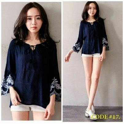 #HOTHOT# KOREA FASHION BLOUSE Deals for only Rp55.000 instead of Rp55.000