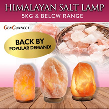 ⏰MAY 2018 RESTOCKED! HIMALAYAN PINK SALT LAMP!★Pakistan★ Dimmer★Health benefits