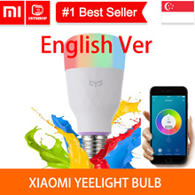 💖💖YEELIGHT OFFCIAL STORE💖💖[Xiaomi Colorful Bulb] - Smart light Bulb - E27 Bulb