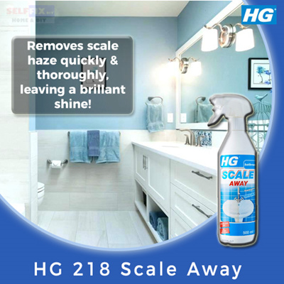 Selffix DIY」- 【HG】218 Scale Away (Remove lime and and hardwater