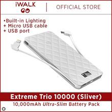 iWALK Extreme Trio 10000 (Silver) UBO10000 1 Year Local Warranty