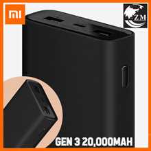 [Power Delivery][NEW Design] Xiaomi Gen 3 PowerBank 20000mAh / Dual USB