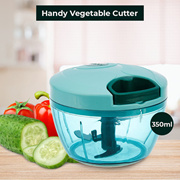 Handy Vegetable Cutter and Chopper - Premium Quality Plastic and Blade