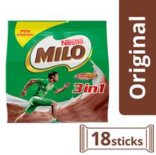 NESTLE MILO 3in1 Activ-Go Chocolate Malt Powder 18 Sticks 33g Per Stick (SPECIAL OFFER)