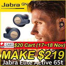 Apply$20 (17~18 Nov)◆Jabra Elite 65T True Wireless Bluetooth Earbud Headphones