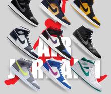 [NIKE] Nike Air Jordon 1 Mid OG AJI LIMITED EDITION Series (20 Colours)
