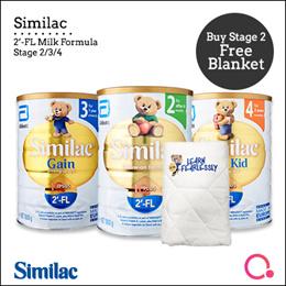 [Abbott]【Single tin】Similac 2FL Milk Formula 1.8KG   All stages available - For Singapore market