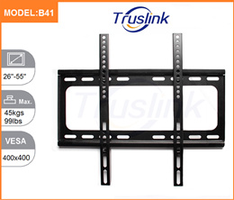 B41 TV Wall Mount Bracket Holder Stand MAX Load 50KG For 26-55 Inch LED LCD Monitor 3D Flat Panel TV