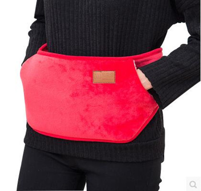 625e25afc4 Hot water bottle charging warm waist treasure electric hot explosion-proof  plush belt warm water