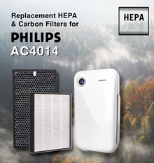 Compatible HEPA and Carbon Filters for Philips AC4014[Free Qxpress Delivery] [ 7 days return]