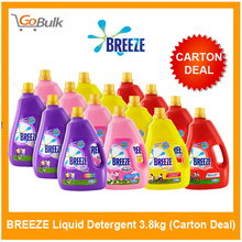 *Carton Deal* Breeze Laundry Detergent 4kg (4 bottles)