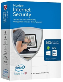 💥Genuine McAfee💥 Internet Security 2018 - 1/3/10 devices for 1 Year (Win/Mac/Android/iOS) Key Code