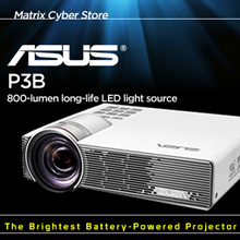 ASUS P3B 800 Lumens Wireless LED Projector[Computer][TV]