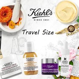 Kiehls Travel Size Special! - Cleanser Toner Moisturiser Serum..
