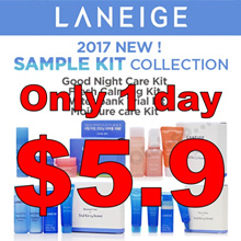 [Laneige] Best Sample Collection! Good night care/Calming/Water bank/Moisture care set