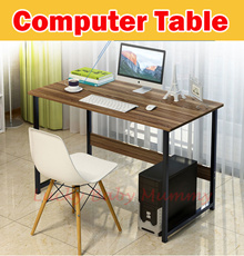 【New Arrival】Modern Study Computer/Table Space Saving Office Study Desk Student Laptop PC Coffee Sid