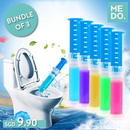 BUNDLE of 3! Toilet Gel Cleaner ★ Toilet Auto Cleaning ★ Toilet Air Freshener ★ Toilet Bowl