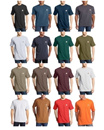Carhartt Mens Workwear Short Sleeve T-Shirt in Original Fit K87