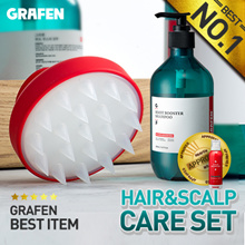 [Grafen]🌈Edge finger / Scalp care / Authentic /Anti hair loss /Shampoo brush