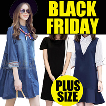 【11.25】QXPRESS 2017 NEW PLUS SIZE FASHION LADY DRESS blouse TOP PANTS skirt