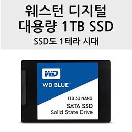 ★쿠폰가 $125★ WD Blue 3D NAND 1TB/500GB  PC SSD 무료배송 관부가세포함