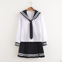 Cosplay Japanese School Girl Students Sailor Uniform Sexy Anime Costume Fashion HIS
