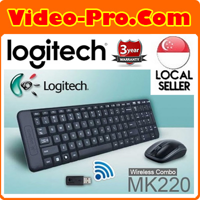 71fdc2697 Logitech MK220 Wireless Keyboard And Mouse Combo 920-003235 3Years Local  Warranty